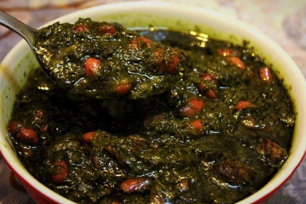 سبزی خشک قورمه سبزی