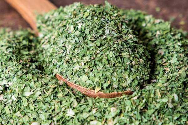 کاربرد سبزی خشک